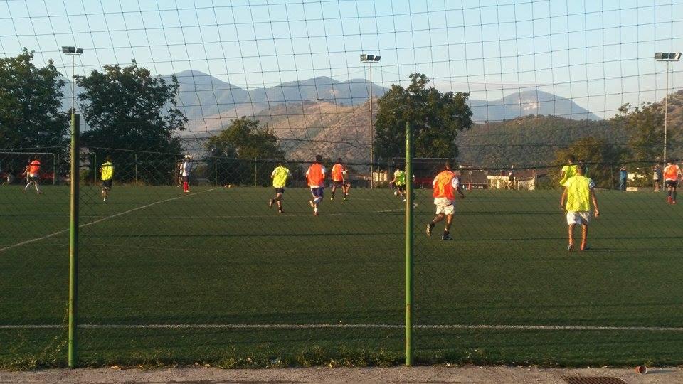 Città Di Nocera: allenamento allievi